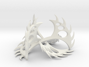 FINAL SCULPTURE FOR SHAPEWAYS in White Natural Versatile Plastic