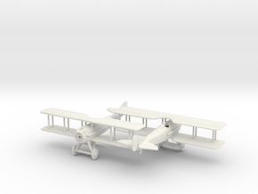 1/144 SPAD VII  x2 in White Natural Versatile Plastic