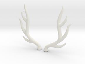 bjd elk deer horns  in White Strong & Flexible