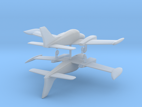 Cessna 310 - Set of 2 - Nscale in Smooth Fine Detail Plastic