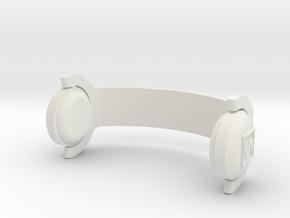 My Keepon Superstar DJ Headphones in White Natural Versatile Plastic