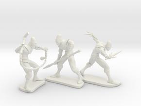 Toe Ninja Bundle in White Natural Versatile Plastic