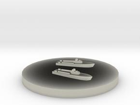 Gyoraitei Type 1 MTB 1:1800 in Transparent Acrylic