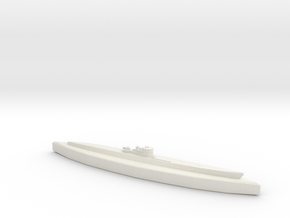 U-862 (Type IXD2 U-Boat) 1/1800 in White Natural Versatile Plastic