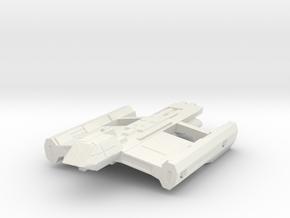 USS Hornet in White Natural Versatile Plastic