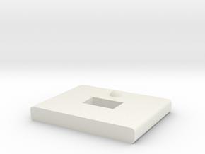 AK-FM-Ts in White Natural Versatile Plastic