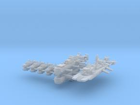 Triple Empire Fleet 1:600 (11 Ships) in Smooth Fine Detail Plastic