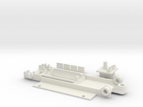 McLarenF1 Typ2 BG in White Natural Versatile Plastic