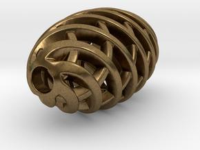 Tritium Pendant 1 (All Materials) in Natural Bronze