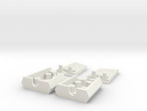 Logitech G35 Parts in White Natural Versatile Plastic