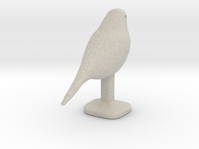 Canary Bird in Natural Sandstone