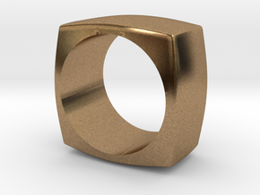 The Minimal Ring in Natural Brass