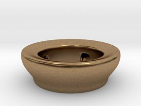Fake Bowl  in Natural Brass