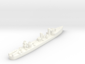 Admiralty S Destroyer (SRE) 1:1800 in White Processed Versatile Plastic