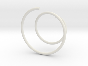 Glasscharm in White Natural Versatile Plastic