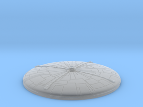 BSG (Galactica) Dome - for large Salzo kit in Smooth Fine Detail Plastic
