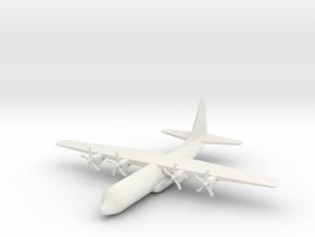 1/285 (6mm) C-130J Hercules in White Natural Versatile Plastic