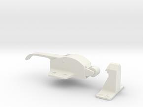 FridgeHandle in White Natural Versatile Plastic