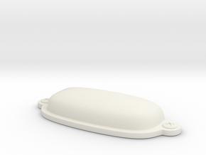 WindowLatchHandle in White Natural Versatile Plastic