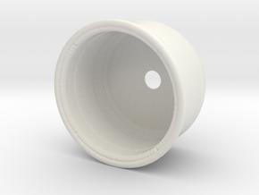 Plant pot in White Natural Versatile Plastic