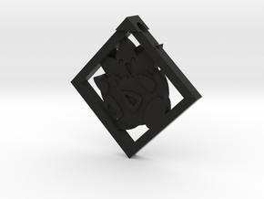Togepi Pendant in Black Strong & Flexible