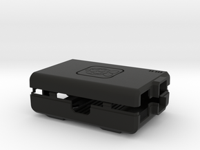 Raspberry Pi CASE 1.0 in Black Strong & Flexible
