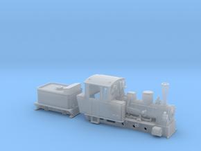 BR 99 3351-53 der MPSB in Nf (1:160) in Smooth Fine Detail Plastic