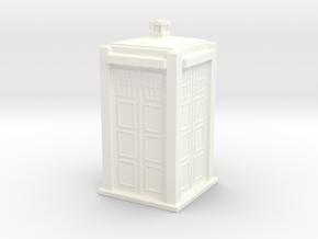 Police box in White Processed Versatile Plastic