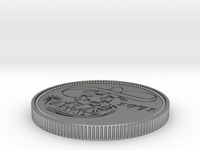 Coin in Raw Silver