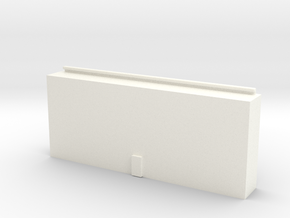 Toolbox Drawer in White Processed Versatile Plastic