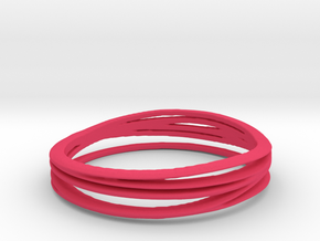 7-error-ring in Pink Strong & Flexible Polished