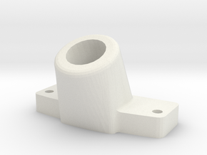 12mm leg holder in White Strong & Flexible