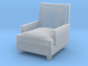 1:10 Scale Model - ArmChair 06 in Smooth Fine Detail Plastic