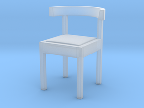 1:10 Scale Model - Chair 04 in Smooth Fine Detail Plastic