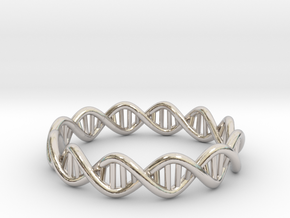 The Ring Of Life DNA Molecule Ring in Platinum: 7.5 / 55.5