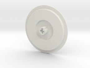 Wheeloader Cover Small in White Natural Versatile Plastic