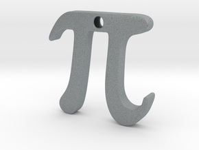 Pi in Polished Metallic Plastic