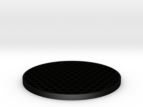 Killflash (for airsoft only, 3 mm thick) in Matte Black Steel