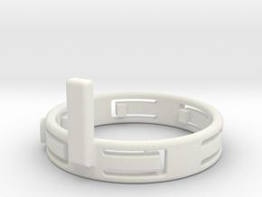 FocusHandleWithFingers10mm 120305 in White Natural Versatile Plastic