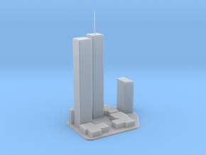 World Trade Center in Smooth Fine Detail Plastic