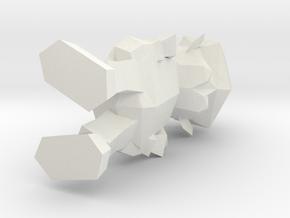 mario in White Natural Versatile Plastic