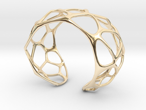 Exteriority Bracelet in 14K Yellow Gold: Small