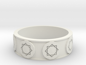 Daniel's Ring (Size 9) in White Strong & Flexible