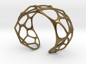 Exteriority Bracelet in Natural Bronze: Small