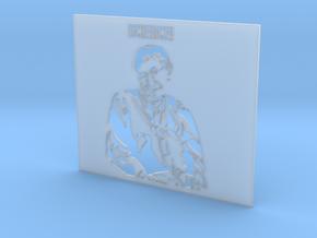 Professor Stephen Hawking SCIENCE! - Stencil in Smooth Fine Detail Plastic