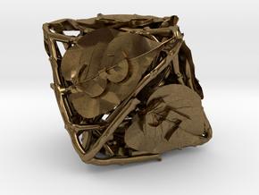 Botanical Die8 (Lilac) in Natural Bronze