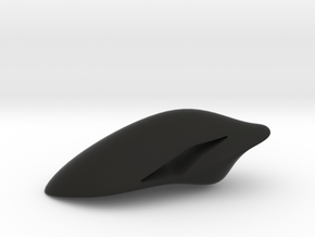 Floating Pendant. Smooth Shaped for Perfect Comfor in Black Natural Versatile Plastic