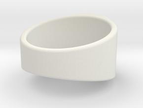 Lantern Ring in White Strong & Flexible
