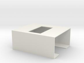 Camera Holder for ZII in White Natural Versatile Plastic