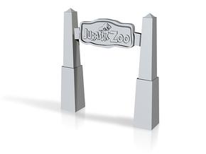 jurassic zoo in White Natural Versatile Plastic